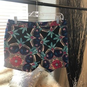 Nicole by Nicole Miller Shorts - Floral pattern shorts